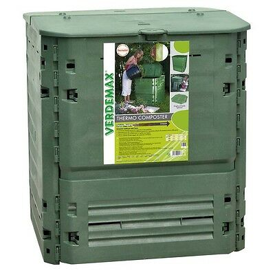 COMPOSTIERA 600 L - COMPOSTER THERMO-KING 600 - CM 80 x 80 x 104 - VERDEMAX 2894