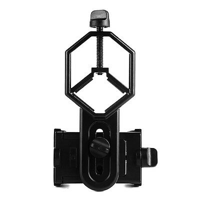 Universal Telescopes Adapter Mobile Phone Mount for Monocular Spotting Scope US