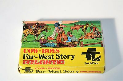 Cow Boys Far-West Story,atlantic Anni 70 1/72