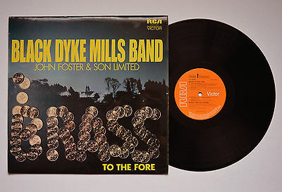 Black Dyke Mills Band To The Fore RCA LSA 3088 Vinyl Record