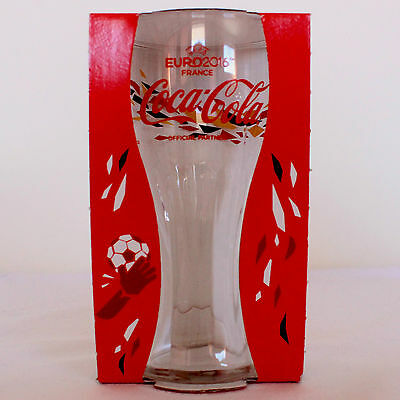 Coca Cola UEFA EURO 2016 Limited Edition Glass Cyprus Edition