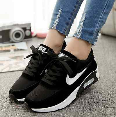 Black 37 New Women's Sneakers Smart Casual Shoes Breathable Cozy Running Shoes