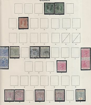 Grenada, On 4 Pages Form Old Time Collection