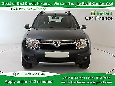Dacia Duster 1.5dCi  Laureate CREDIT PROBLEMS ? WE CAN HELP !! 0161-972-0565
