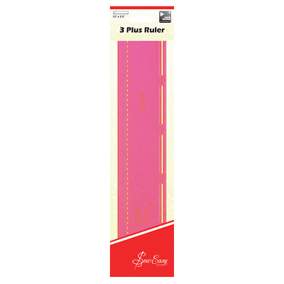 Sew Easy 3 Plus Ruler. Cut 2.5in strips and create circles all from one ruler