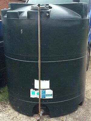 Titan domestic heating oil tank 1300 ltr  (Braintree Essex) can deliver