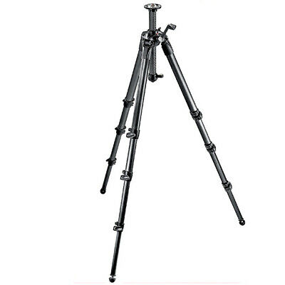 New In Box Manfrotto MT057C4-G Carbon Fiber 4 Section Professional Geared Tripod