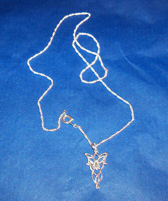 Lord of the Rings The Arwen Necklace Sterling Silver .925