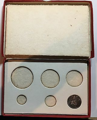 1927 Proof Set Presentation Box With 1927 Proof One Shilling Coin