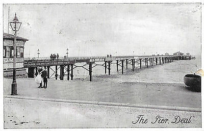 RP Card DEAL PIER - Yes or No Series Card - Posted 1905