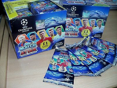 Topps Match Attax UEFA Champions League 2016/17 Trading Cards 10 25 50 Packs Box