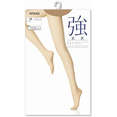 "ATSUGI ASTIGU Pantyhose Stockings Tights 強 ""Tough Strong"" made in Japan"