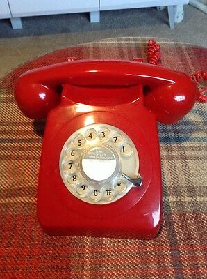 Repro Gpo Telephone Red