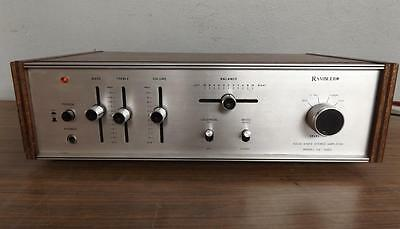 RARE VINTAGE RAMBLER SA-1000 SOLID STATE STEREO AMPLIFIER RAMBLEL 1960's 1970's