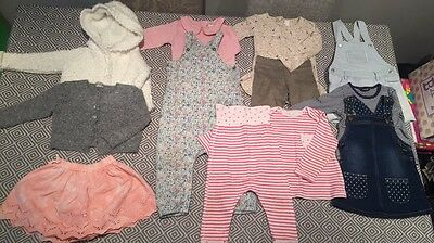 Baby Girl Aged 12-18 Months 12 Piece Clothing Bundle