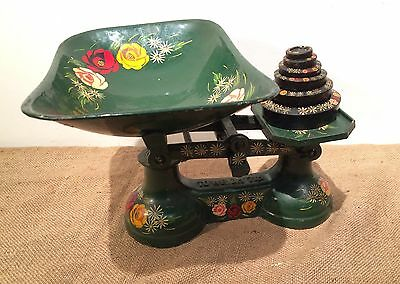 Painted Weighing Scales (canal boat style)