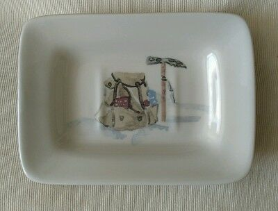 Ascentielle Soap Dish depicting Mountaineering Equipment