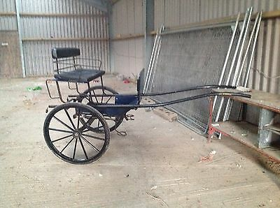 Excercise 2 Seater Horse Drawn Pony Trap, Gig, Cart