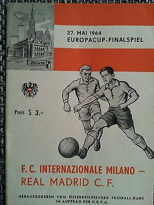 EC 1 Finale 1964 Real Madrid - Inter Mailand