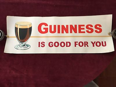 "Vintage Guinness Poster ""Guinness is Good For You"""