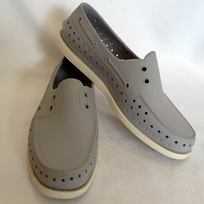 Native Gray Water Shoes~Size 11M~EUC
