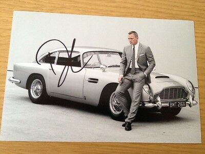 Original Autograph of Daniel Craig (In Person) James Bond, Skyfall