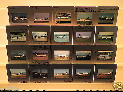 20 Original Colour Slides of Airliners - Boeing 737 (2)