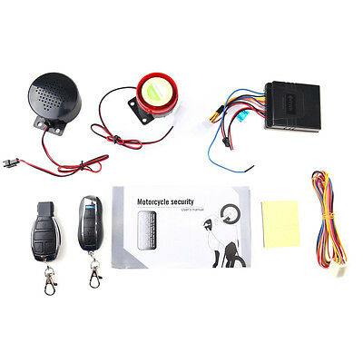 Top Arrival Motorcycle Motorbike Scooter Anti-theft Security Remote Voice Alarm