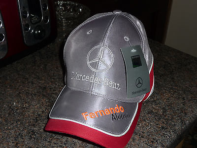 NEW Drivers Cap Alonso Mercedes-Benz 2016 with tag