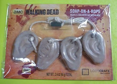 The Walking Dead Daryl Dixon Walker Ear Necklace Soap on a Rope - Loot Crate