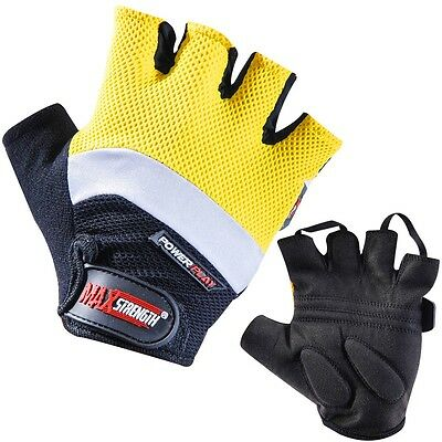 Wholesale Lot Half Finger Weight Lifting Training Gloves Gym Fitness S/M & L/XL