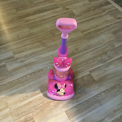 Minnie Mouse Toy Vacuum Cleaner