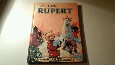 The New Rupert  1954 (Painting Contest Not Attempted )