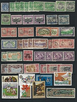 Cook Islands / Nuie, Used, Mint And Mnh On 2 Stock Page Sides