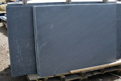 Brazilian Slate hearth stone 900x900x20mm - slate slabs for fireplaces