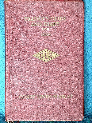Traders Guide & Diary For 1930, Coast Lines Seaway