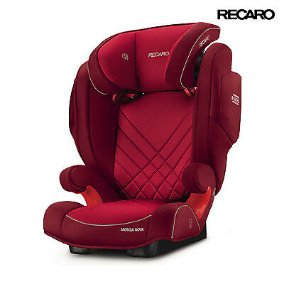 2016 Recaro Monza Nova 2 Indy Red Child Seat (15-36 kg) (33-80 lbs)