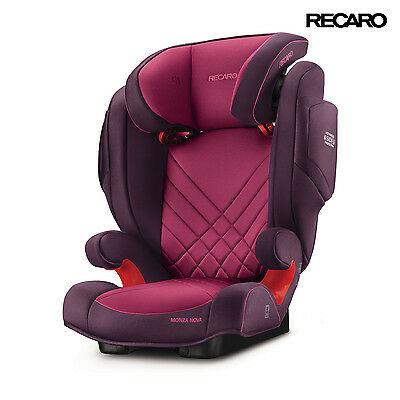 2016 Recaro Monza Nova 2 Power Berry Child Seat (15-36 kg) (33-80 lbs)