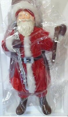 "Hallmark 2011 FATHER CHRISTMAS Table top Santa figure 12"" new in box"