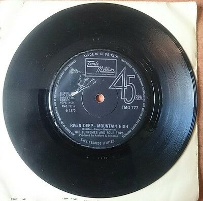 Supremes And The Four Tops - River Deep Mountain High 1970 Tmg777 Vg