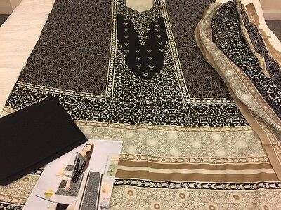 Pakistani designer Taj Cotton COLLECTION UN-STITCHED SHALWAR KAMEEZ SUIT