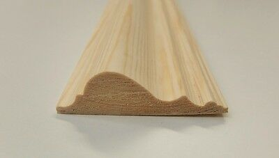 3.6m 70x20mm Dado Rail Timber Pine Wooden Timber Decorative Moulding