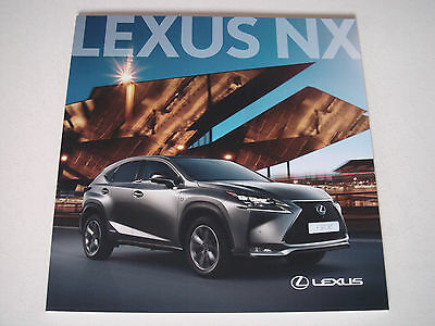 Lexus . NX . February 2016 Sales Brochure