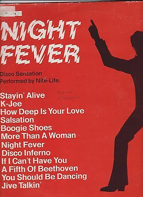 Night Fever - Performed by Nite-Life LP