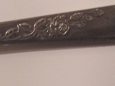 Six Silver Spoon (hallmarked) No Bends