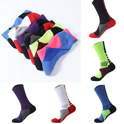 Outdoor Professional Breathable Athletic Thicken Towel Basketball Sport Socks