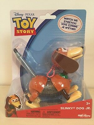 Disney Slinky Dog Jr Toy Story Pixar NEW Stretch
