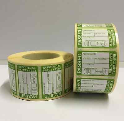 Electrical Safety Pat Test Passed Labels / Stickers ** Free P+P **
