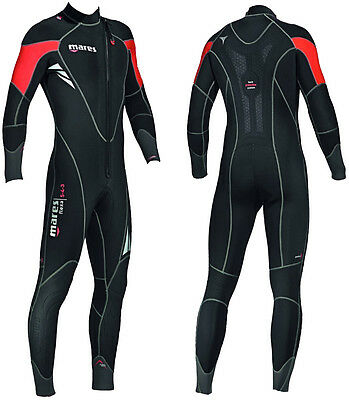 Mares Mens Semi Dry Flexa 5/4/3mm High Stretch Neoprene Wetsuit - RRP £200