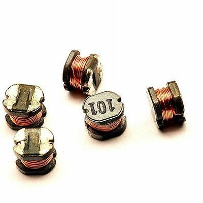 10PCS CD43 100uH 101 SMD Power Inductors 4×3mm